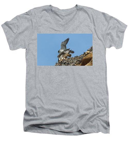 Peregrine Falcons - 4 Men's V-Neck T-Shirt