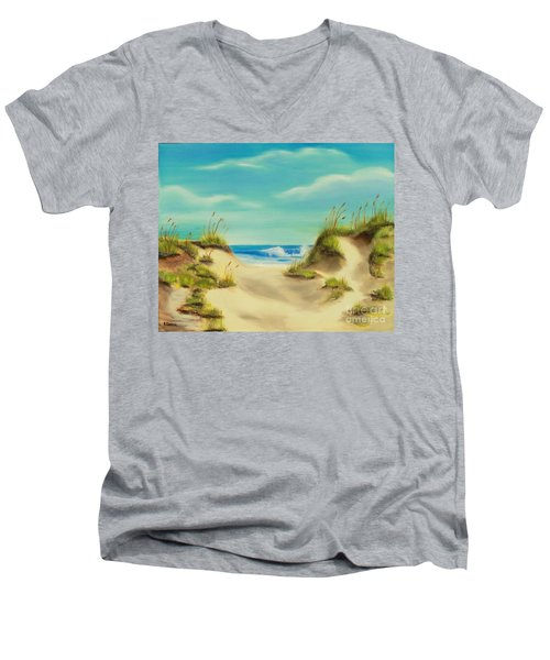 Perfect Beach Day Men's V-Neck T-Shirt