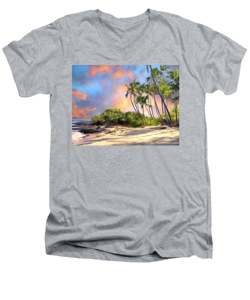 Perfect Moment Men's V-Neck T-Shirt by Dominic Piperata