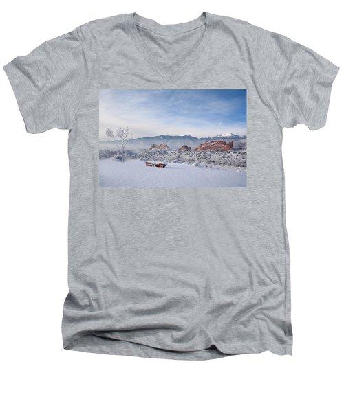 Perfect View Men's V-Neck T-Shirt