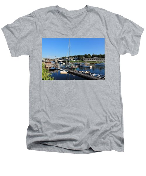 Perkins Cove Ogunquit Maine 2 Men's V-Neck T-Shirt