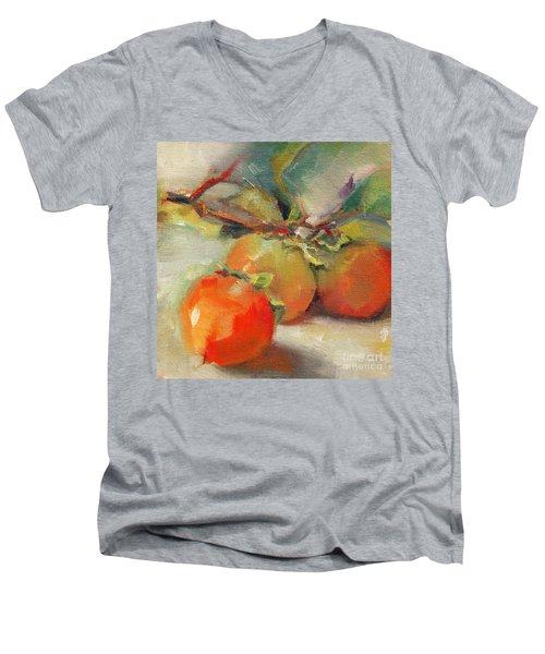 Persimmons Men's V-Neck T-Shirt