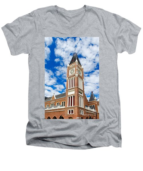 Perth Town Hall Men's V-Neck T-Shirt