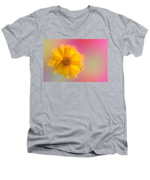 Petals Of Sunshine Men's V-Neck T-Shirt
