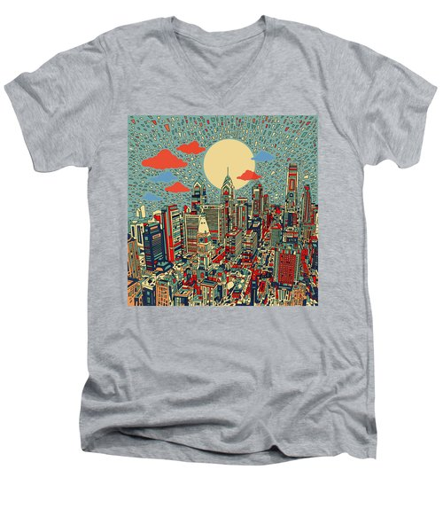 Philadelphia Dream 2 Men's V-Neck T-Shirt