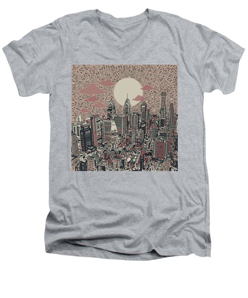 Philadelphia Dream 3 Men's V-Neck T-Shirt