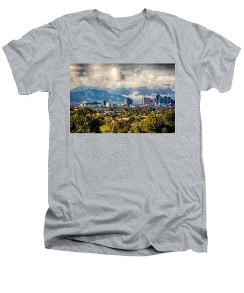 Phoenix Downtown Men's V-Neck T-Shirt