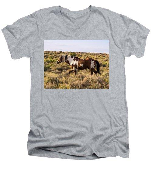 Picasso - King Of Sand Wash Basin Men's V-Neck T-Shirt