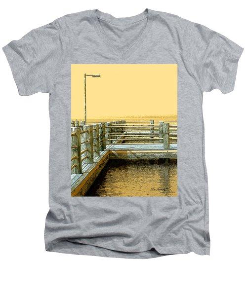 Pier 2  Image A Men's V-Neck T-Shirt