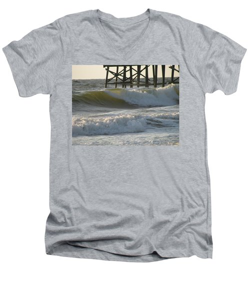 Pier Pressure Men's V-Neck T-Shirt