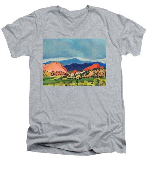 Garden Of The Gods Pikes Peak Men's V-Neck T-Shirt