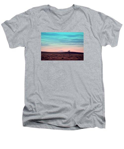Pikes Peak To Prairie Men's V-Neck T-Shirt