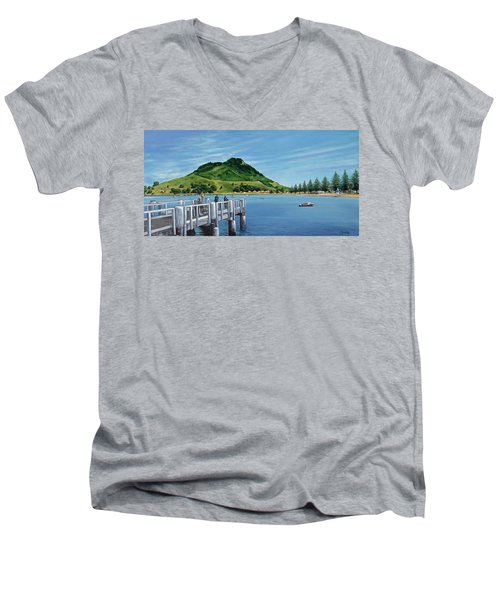 Pilot Bay 280307 Men's V-Neck T-Shirt