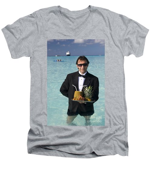 Pina Colada Anyone Men's V-Neck T-Shirt