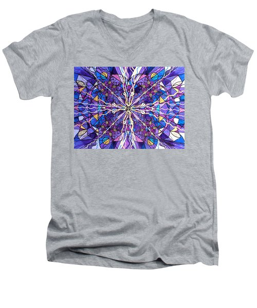 Pineal Opening Men's V-Neck T-Shirt
