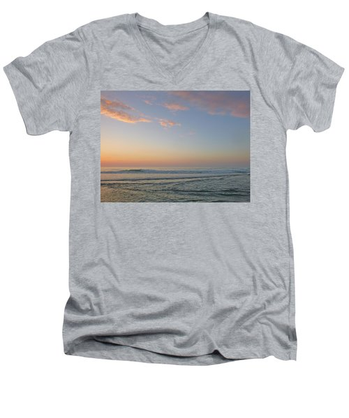 Pink Morning Men's V-Neck T-Shirt