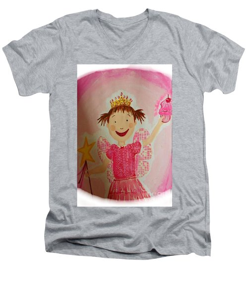 Pinkalicious Men's V-Neck T-Shirt