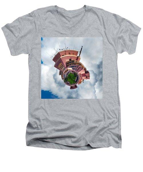 Planet Tripler Men's V-Neck T-Shirt