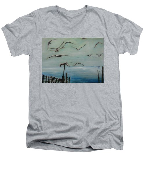 Playtime Men's V-Neck T-Shirt