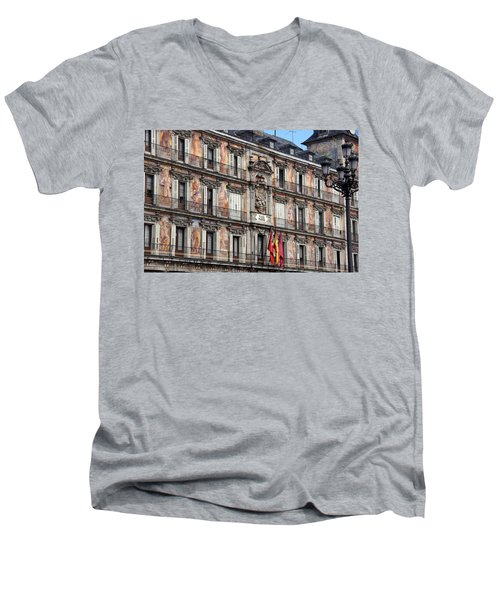 Plaza Mayor Men's V-Neck T-Shirt