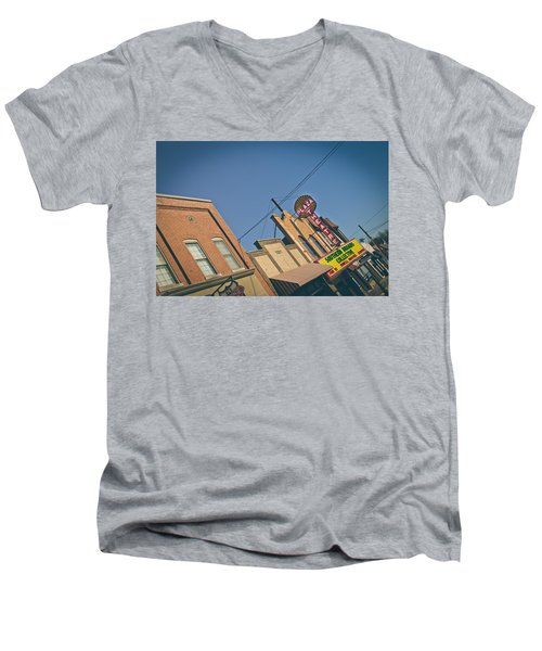 Plaza Theatre Men's V-Neck T-Shirt
