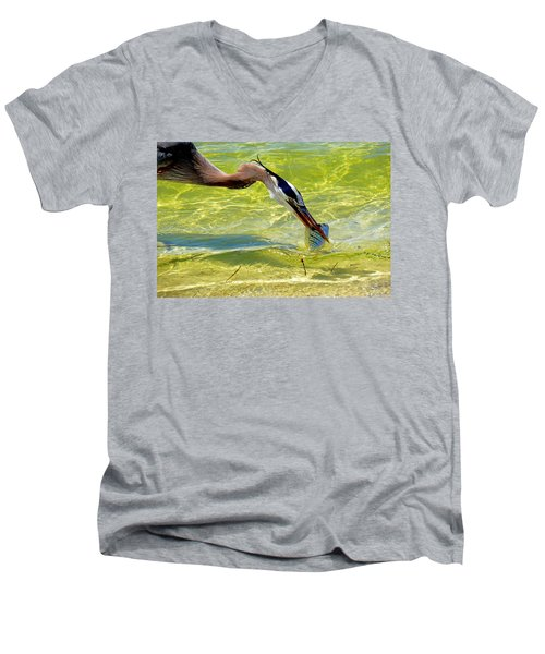 Plucked From The Sea Men's V-Neck T-Shirt