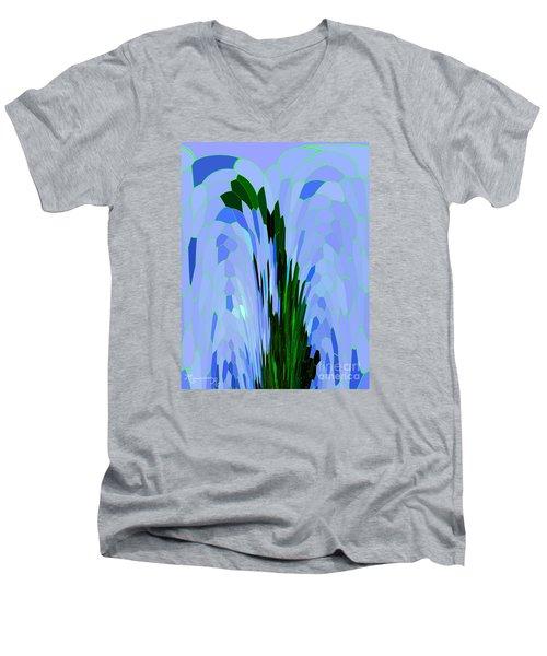 Point Of View Men's V-Neck T-Shirt by Mariarosa Rockefeller