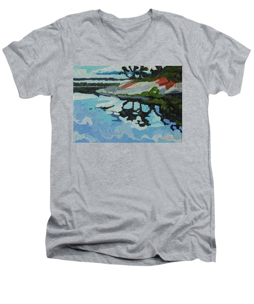Point Paradise Men's V-Neck T-Shirt