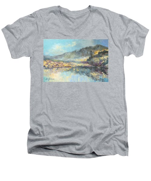 Poland - Tatry Mountains Men's V-Neck T-Shirt