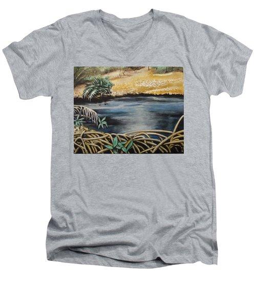 Pond 1 Men's V-Neck T-Shirt