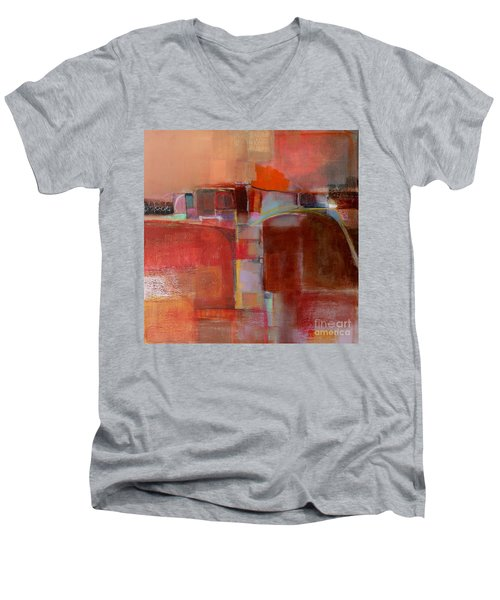 Pont Des Arts Men's V-Neck T-Shirt