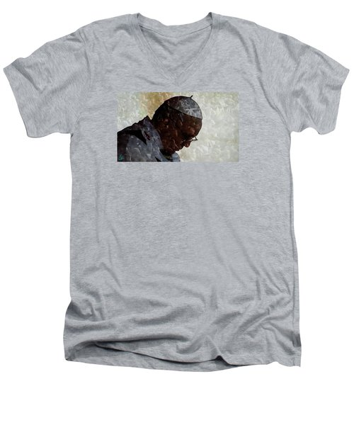 Pope Francis Inauguration Vatican 19 February 2013  Men's V-Neck T-Shirt