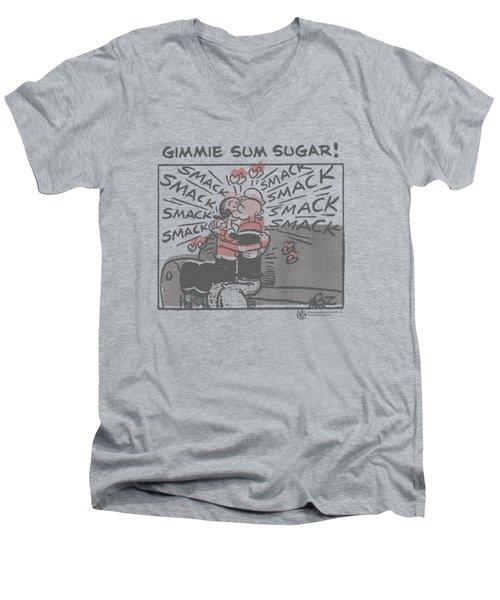 Popeye - Sweet Love Men's V-Neck T-Shirt