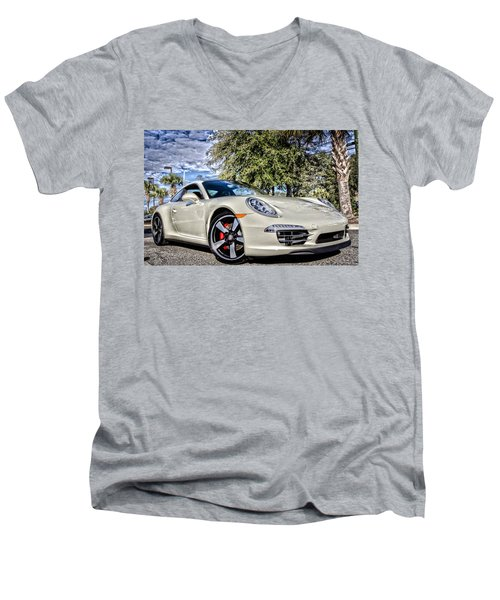 Porsche 50th Anniversary Limited Edition Men's V-Neck T-Shirt