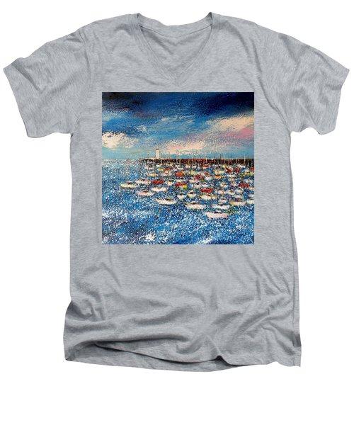 Port Men's V-Neck T-Shirt