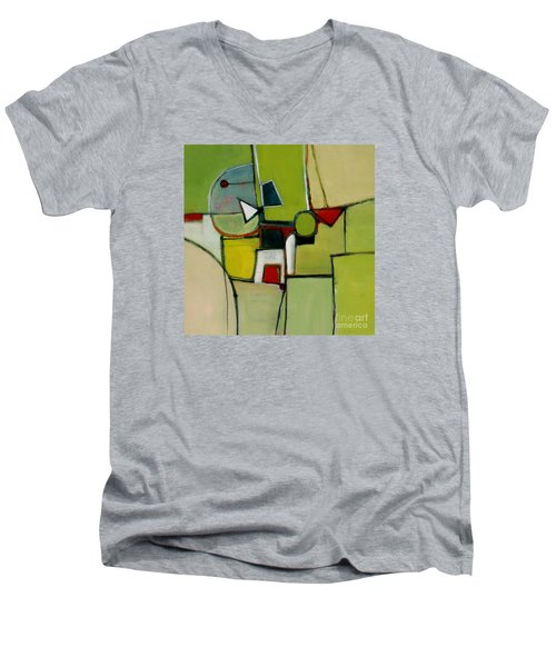 Portal No.1 Men's V-Neck T-Shirt by Michelle Abrams