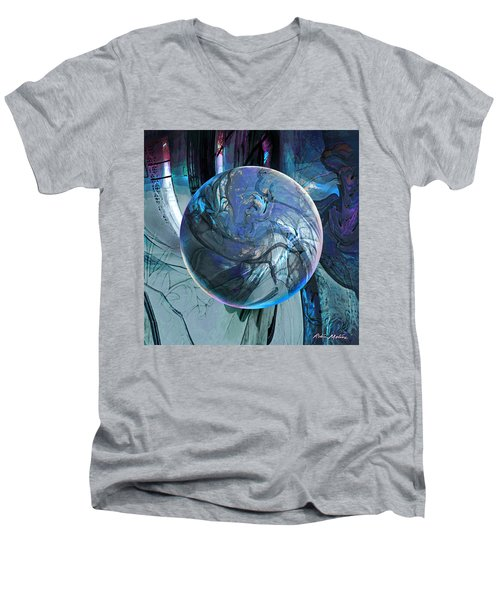 Portal To Divinity Men's V-Neck T-Shirt