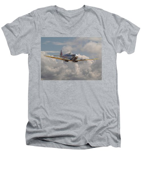 Portrait Of An Icon Men's V-Neck T-Shirt