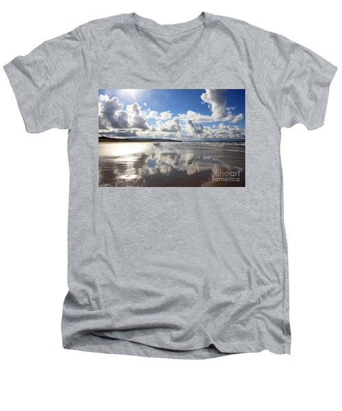 Portstewart Strand 4 Men's V-Neck T-Shirt