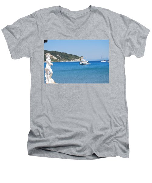 Poseidon 3 Men's V-Neck T-Shirt