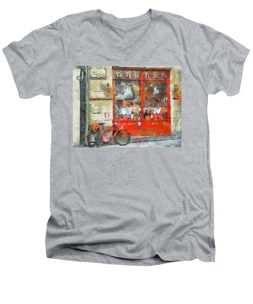 Postcard Perfect Men's V-Neck T-Shirt