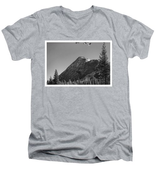 Pothole Dome In Yosemite Men's V-Neck T-Shirt