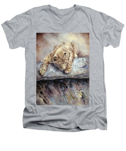 Pounce Men's V-Neck T-Shirt