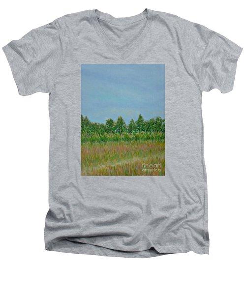 Prairie Morning Light Men's V-Neck T-Shirt