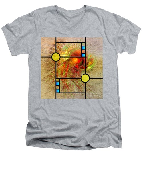 Prairie View - Square Version Men's V-Neck T-Shirt