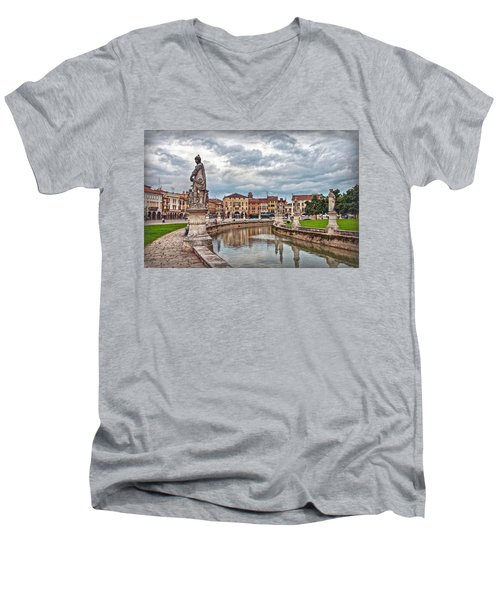 Prato Della Valle Men's V-Neck T-Shirt