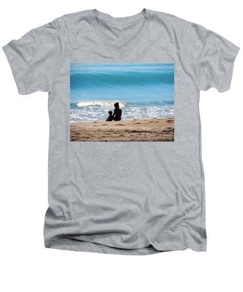 Precious Moment's Men's V-Neck T-Shirt