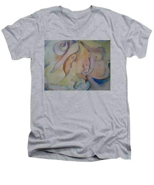 Pregnant With Desire One Men's V-Neck T-Shirt