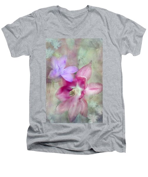Pretty Flowers Men's V-Neck T-Shirt