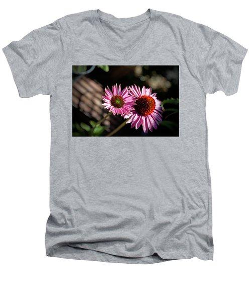 Pretty Flowers Men's V-Neck T-Shirt
